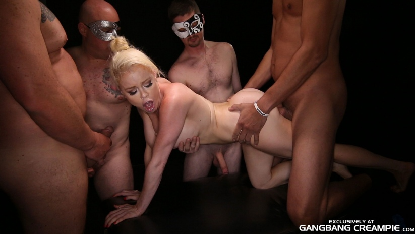Gangbang creampie streaming videos